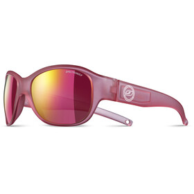 Julbo Junior 6-10Y Lola Spectron 3CF Sunglasses Matt Translucent Pink-Multilayer Pink